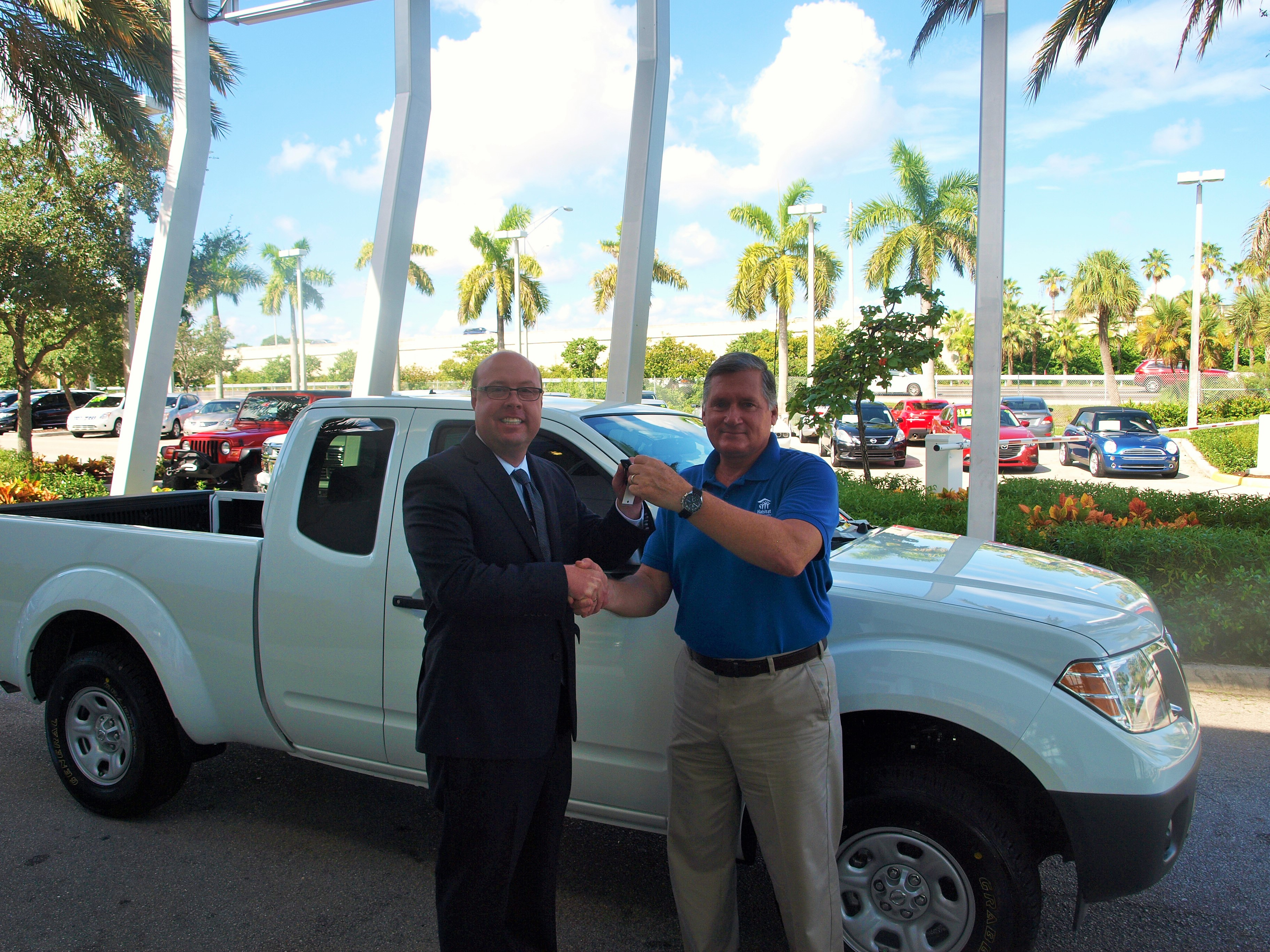 U201cWe Look Forward To Continuing Our Partnership With Nissan North America In Palm  Beach County,u201d Says Bernie Godek, CEO Of Habitat For Humanity Palm Beach ...