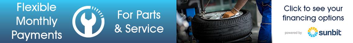 Sunbit - Monthly Flexible Payments for Parts & Service